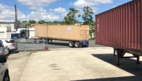 Almacen de suministros médicos en área de Carolina