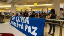 Protesta de Mujeres Contra Luma en Plaza Las Américas